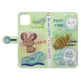 UMAちゃんずスマホケース Book-style smartphone case