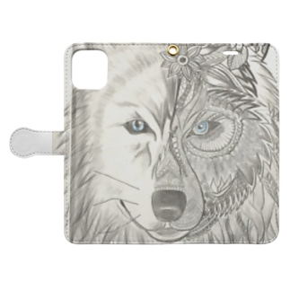 WOLF Totem Book-style smartphone case