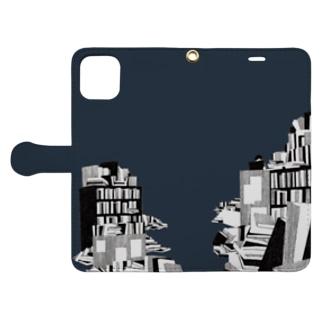本の海 Book-style smartphone case