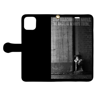 The Angel is always there Book-style smartphone case