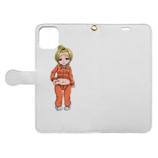 ぷに子 Book-style smartphone case