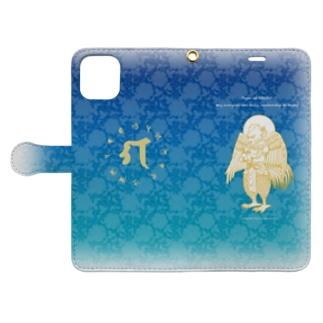 迦楼羅神_4 Book-style smartphone case