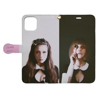 💜M様専用💜【♂e69'nDoLL5♀】EAT (YOU) ME【スマホケース】 Book-style smartphone case