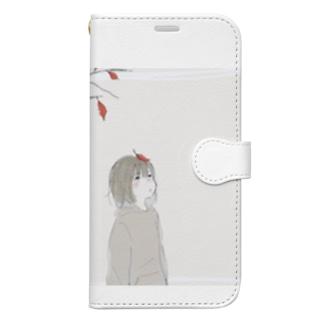 秋 Book-style smartphone case