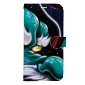 青龍スマホカバー Book-style smartphone case