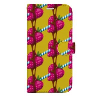 Chocolate Coating(各種7点限定) Book-style smartphone case
