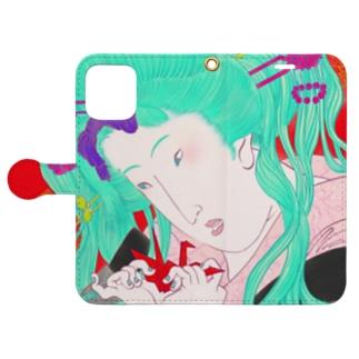 UKIYOE☆ Book-style smartphone case