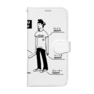 聖徳太子 ショップの専属モデル Book-style smartphone case