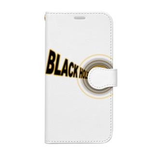 ブラックホール Book-style smartphone case