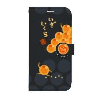 いくら人 Book-Style Smartphone Case