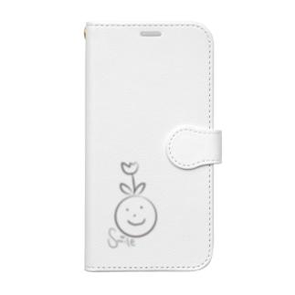 Smile Book-style smartphone case