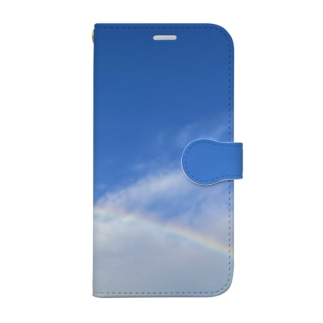 over the rainbow. Book-style smartphone case