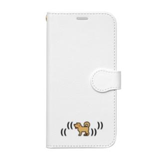 踊る越前わん Book-style smartphone case