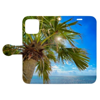 Tropical breeze Book-style smartphone case