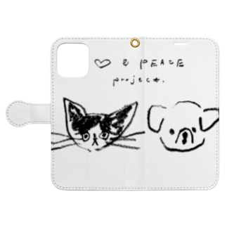 ♡ & PEACE Book-style smartphone case