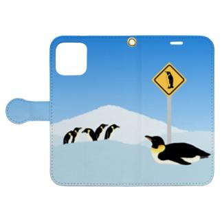 Antarctic sign./手帳型 Book-style smartphone case