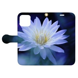睡蓮 Book-style smartphone case