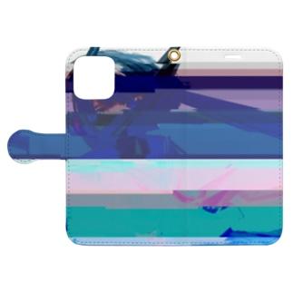 グリッチセーラーちゃん Book-style smartphone case