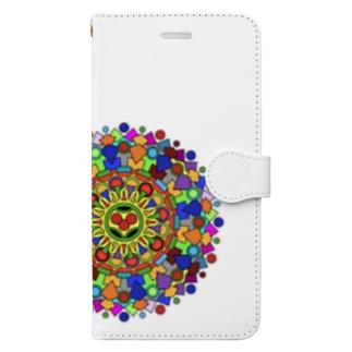 まんだら Book-style smartphone case