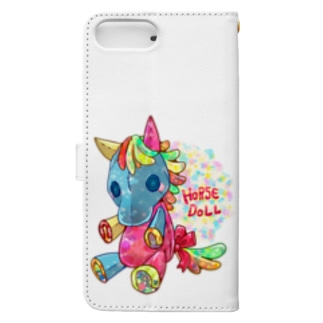 HORSE DOLL Book-style smartphone case