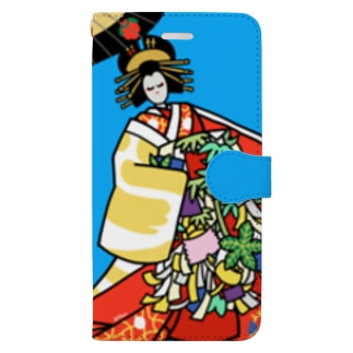 助六 Book-style smartphone case