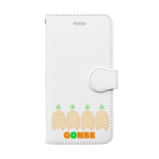 ごんべぇ Book-style smartphone case
