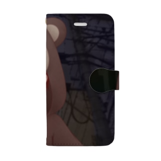 Serial experiments lain -クマさんパジャマ- Book-style smartphone case