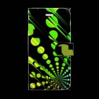 狐面/斑曇洸のC Book-style smartphone case
