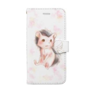 天使な針鼠[iPhone6,6s,7,8専用] Book-style smartphone case