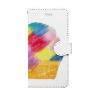 しあわせなカップケーキ 6S Book-style smartphone case