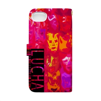 LUCHA-RED- Book-style smartphone case