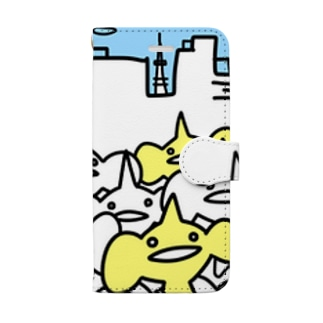 KED.(都会) Book style smartphone case
