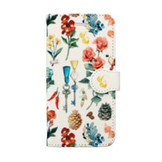 iphone6-6s-7-8用 手帳型スマートフォンケース Book style smartphone case