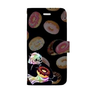 doping donut PANDA 2 Book-style smartphone case