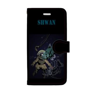 深海魚スマホケース Book-style smartphone case