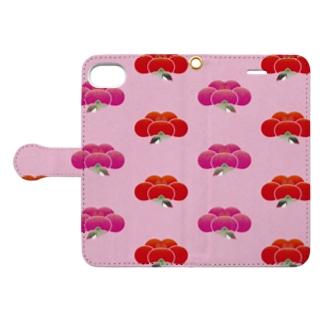梅文鳥紋 Book-style smartphone case