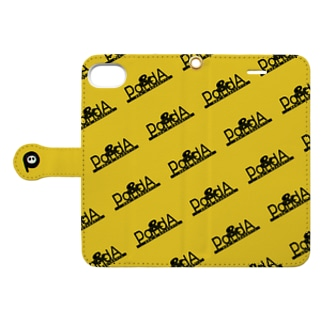 PandA(6/6s/7/8 サイズ向けデザイン) Book-style smartphone case