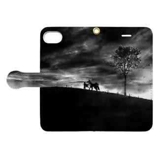 Dark Book-style smartphone case