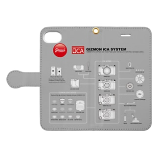 iCA システム図 Book-style smartphone case