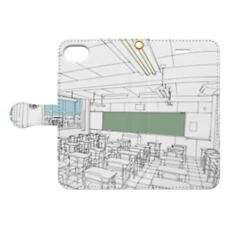 教室 Book-style smartphone case