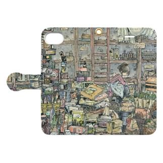 倉庫の片づけ Book-style smartphone case