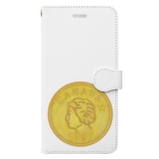 金貨 Book-style smartphone case