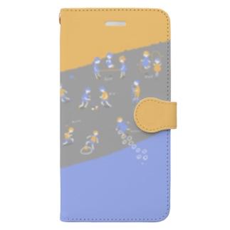 なつかしあそび Book-style smartphone case