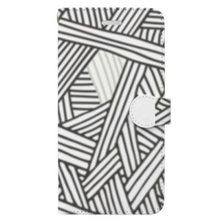 Thread(糸紡ぎ) Book-style smartphone case