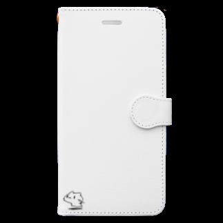 どどど素人のどどねこ-せいれつ- Book-style smartphone case