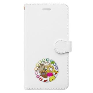 ゆかいな仲間 Book style smartphone case