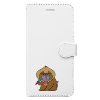 のどじまんどりる Book style smartphone case