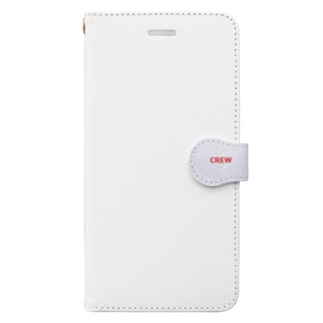 航空 グッズ CREW Book style smartphone case