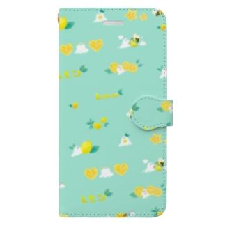 おばけちゃんズとレモン Book-Style Smartphone Case
