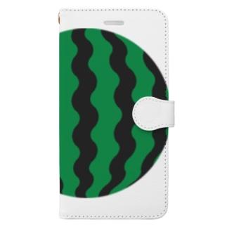 スイカ3 Book-style smartphone case